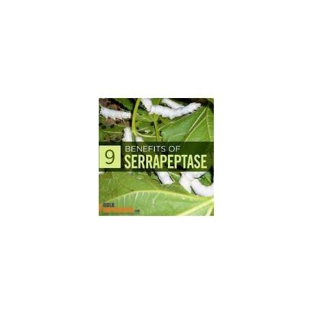 Serrapeptase  80000 UI  120 capsules